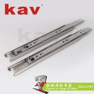 45宽不锈钢钢珠滑轨 B450