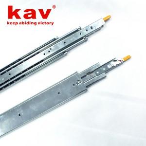 76宽三节重型钢珠滑轨 760