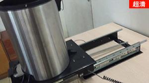 【kav感应式电动滑轨】电动垃圾桶滑轨 调试效果视频