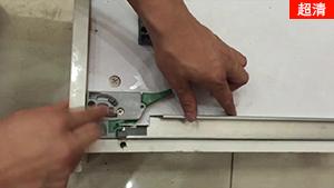 【kav抽屉滑轨】三节全展隐藏式滑轨 带二维调节把手