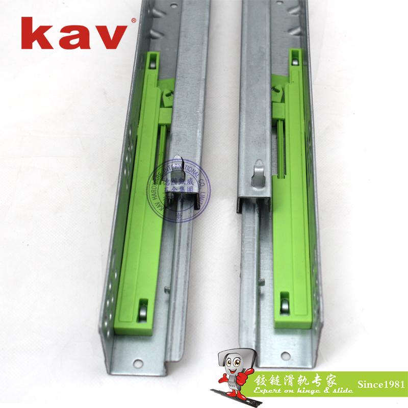 kav两节隐藏式反弹滑轨662FI
