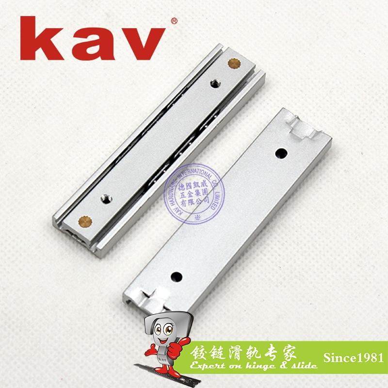 kav16mm宽双向二节迷你静音滑轨TL16225