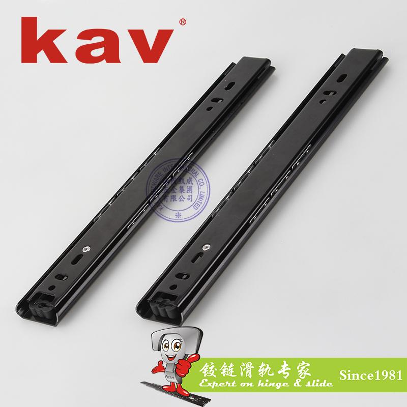 35mm宽普通二节钢珠滑轨【二节抽屉导轨】 C35214