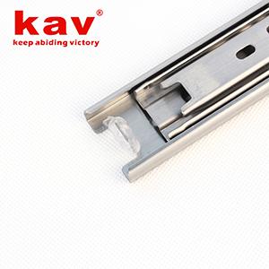 35mm宽三节不锈钢滑轨【不锈钢抽屉轨道】 B350-3