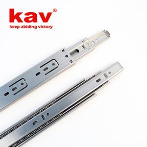 35mm宽三节不锈钢滑轨【不锈钢抽屉轨道】 B350-1