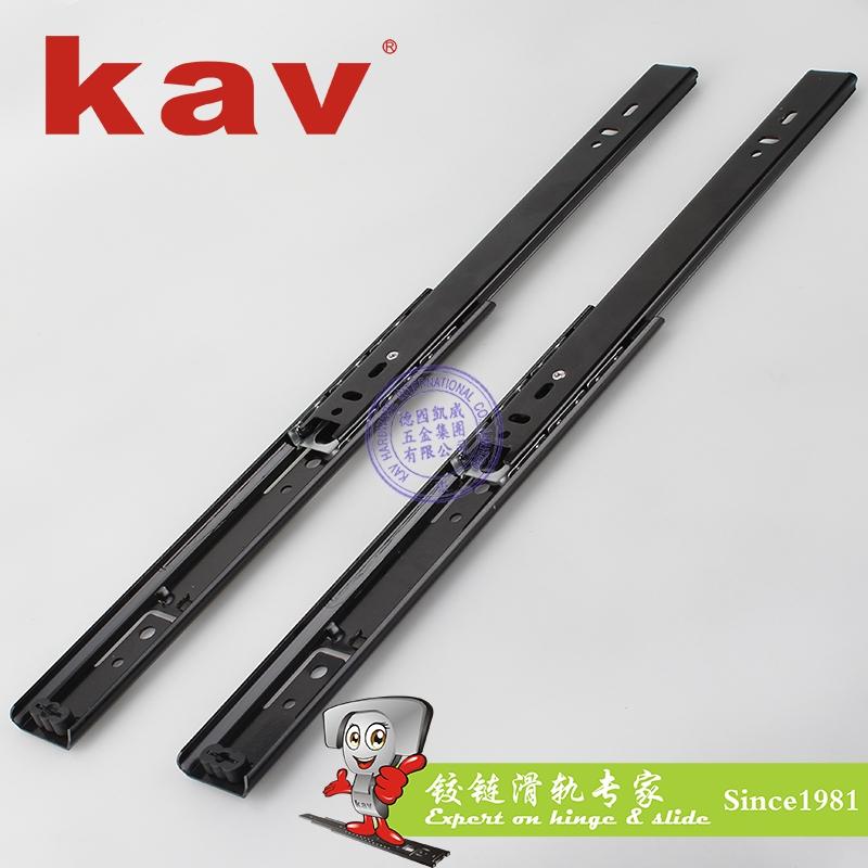 35mm宽普通二节钢珠滑轨【二节抽屉导轨】 C35214-2