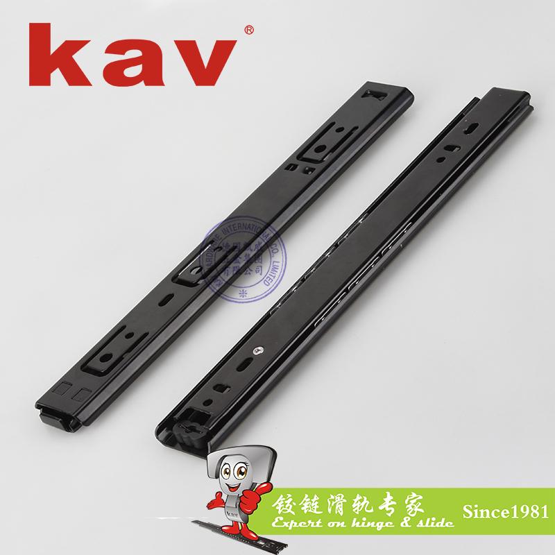 35mm宽普通二节钢珠滑轨【二节抽屉导轨】 C35214-4