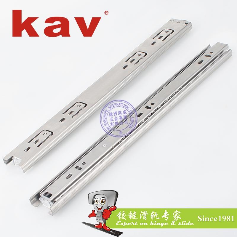 38mm宽三节不锈钢滑轨【不锈钢抽屉滑道】 B380