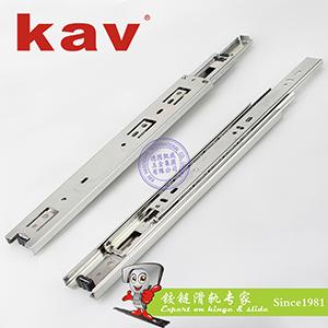 45mm宽三节钢珠滑轨 Y45310