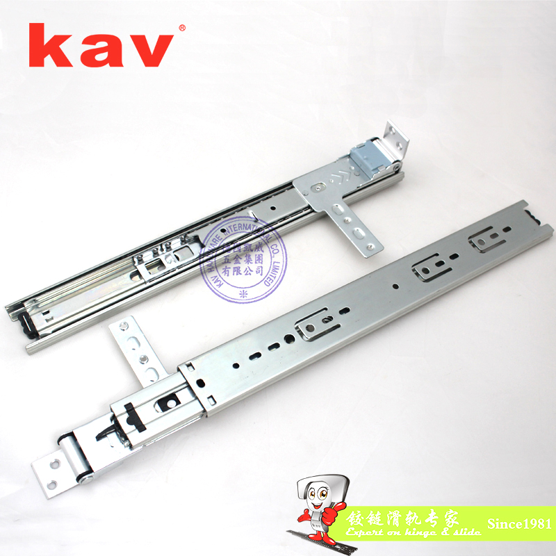 kav45mm宽三节穿衣镜子滑轨TM45310