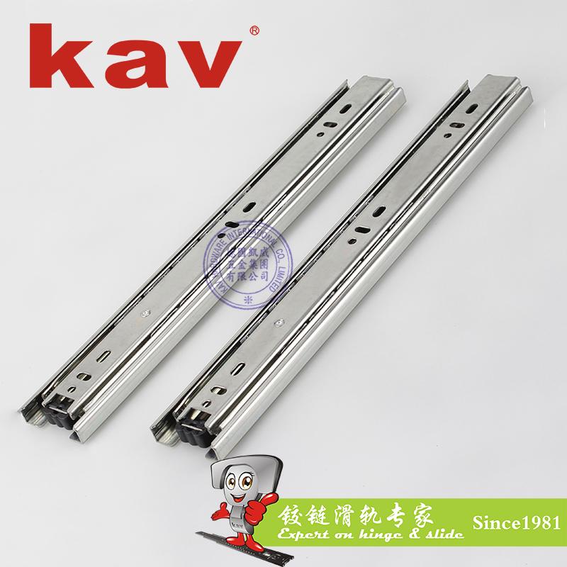 45mm宽普通三节钢珠滑轨【三节走珠路轨】 Y45310