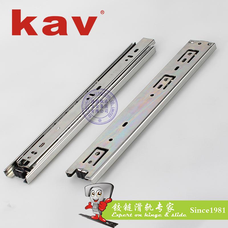 45mm宽三节钢珠滑轨【三节抽屉导轨】 Y45315-1