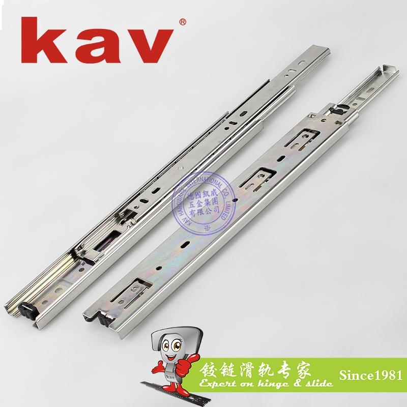 45mm宽三节钢珠滑轨【三节抽屉导轨】 Y45315-2