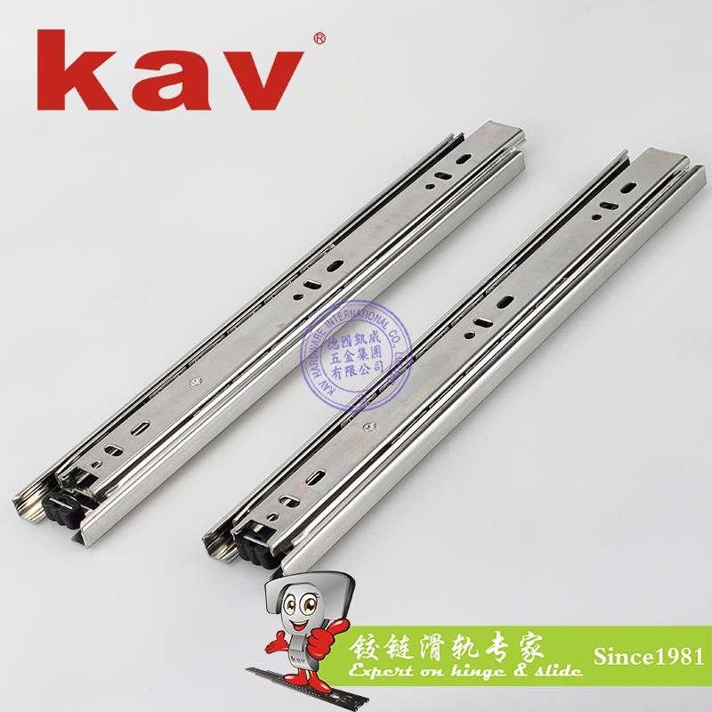 45mm宽三节钢珠滑轨【三节抽屉导轨】 Y45315-4