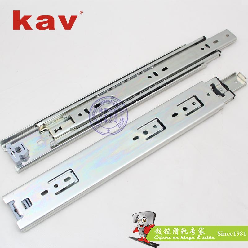50mm宽三节重型钢珠滑轨【工业重型导轨】 H500