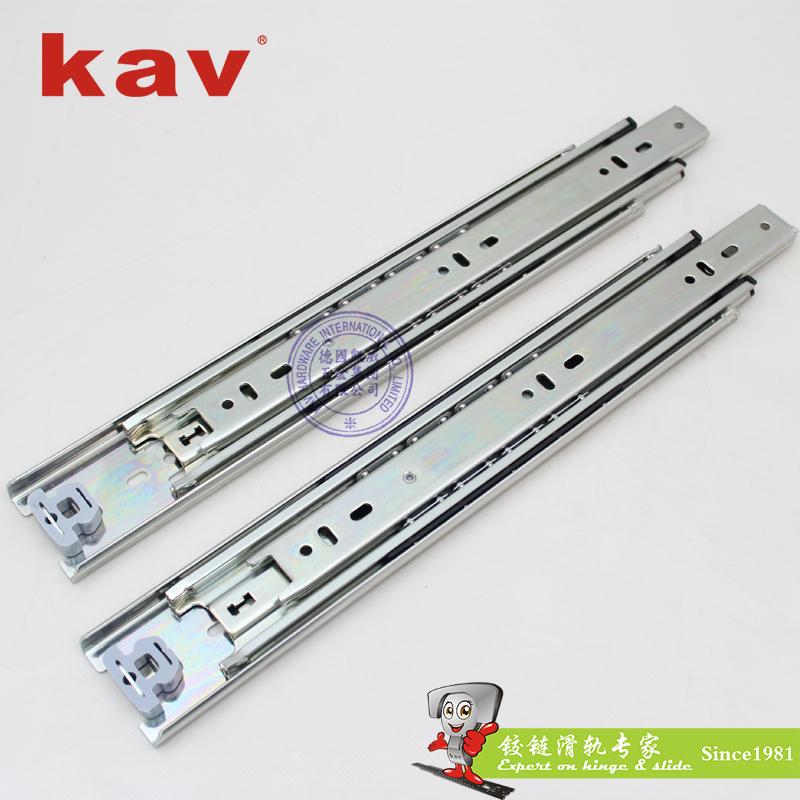 50mm宽三节重型钢珠滑轨【工业重型导轨】 H500-4