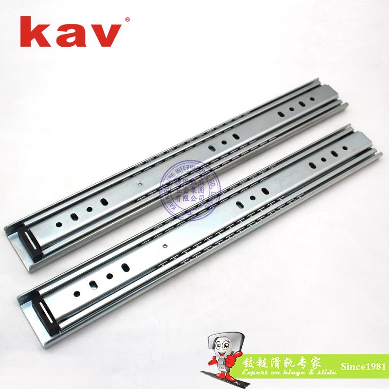 53mm宽三节重型钢珠滑轨【三节重型工业导轨】 A530
