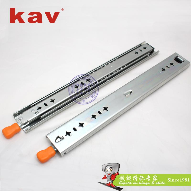 53mm宽三节重型钢珠滑轨【工业导轨】 带锁 CL530-1