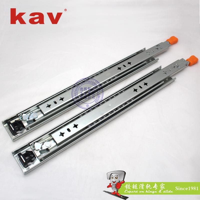 53mm宽三节重型钢珠滑轨【工业导轨】 带锁 CL530-2