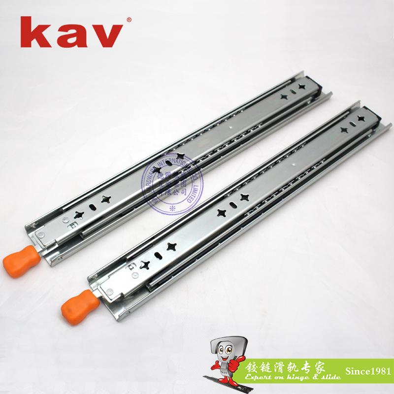 53mm宽三节重型钢珠滑轨【工业导轨】 带锁 CL530-4