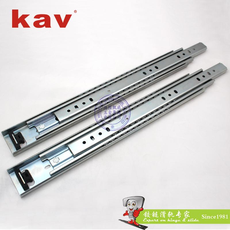 53mm宽三节重型钢珠滑轨【三节重型工业导轨】 A530-4