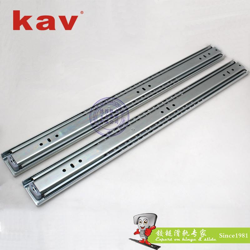53mm宽三折重型钢珠滑轨【重型工业导轨】 H530-1