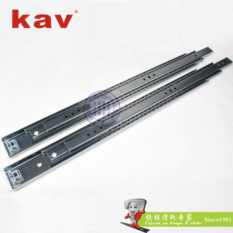 53mm宽三折重型钢珠滑轨【重型工业导轨】 H530-2