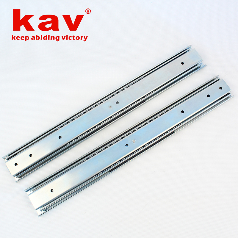 58mm宽三节重型钢珠导轨【三折重型钢珠滑轨】 A580-5