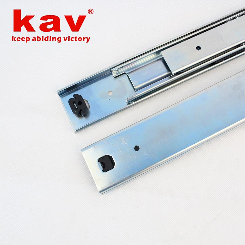 58mm宽三节重型钢珠导轨【三折重型钢珠滑轨】 A580-2