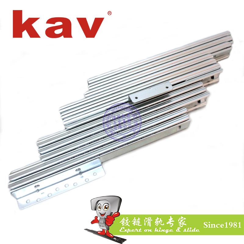 12节冷轧钢餐桌滑轨【多节伸缩餐台轨道】广东餐桌滑轨生产厂家 YC3512-C