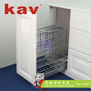 kav智能电动升降橱柜拉篮滑轨系统【电动滑轨拉篮】 KT-310