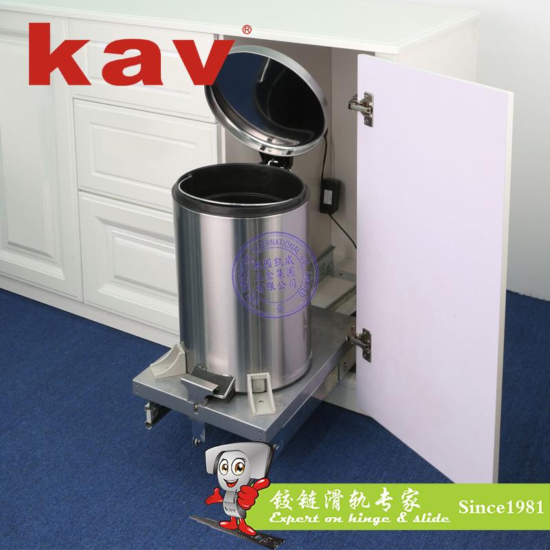 kav智能感应式电动垃圾桶【家用电动垃圾桶】自动垃圾箱 KA-16L