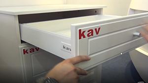kav豪华玻璃骑马抽滑轨的应用介绍