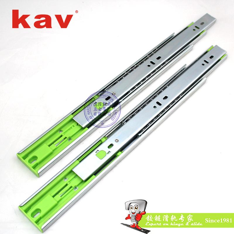 kav45宽三节按弹钢珠轨45315F
