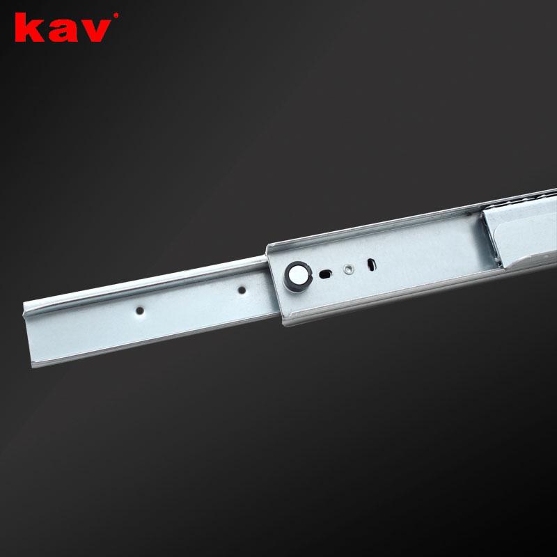 楼梯底柜滑轨 加厚储物柜钢珠滑轨 伸缩推拉重型导轨 MC001